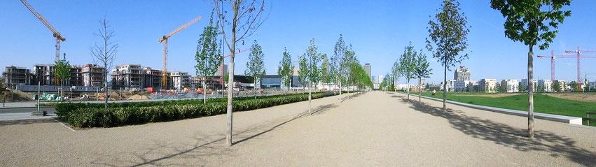 Frankfurt am Main - Gallus - Europaviertel / Europagarten - Pariser Str. - 2012
