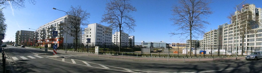 Frankfurt am Main - Gallus - Am Europagarten - DB Zentrale - Idsteiner Str.