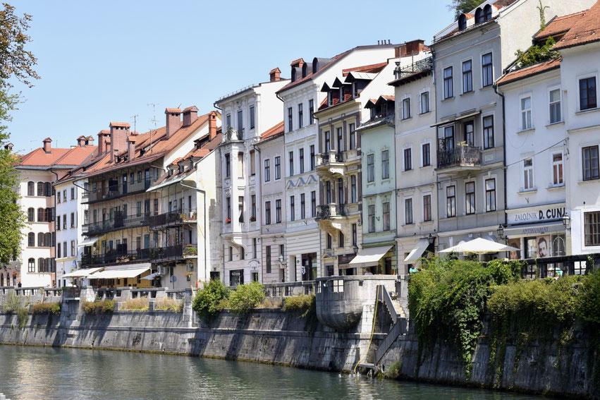 Städtereise Ljubljana Slowenien