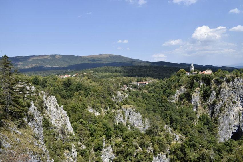 Slowenien Sehenswürdigkeiten Skocjan Höhlen