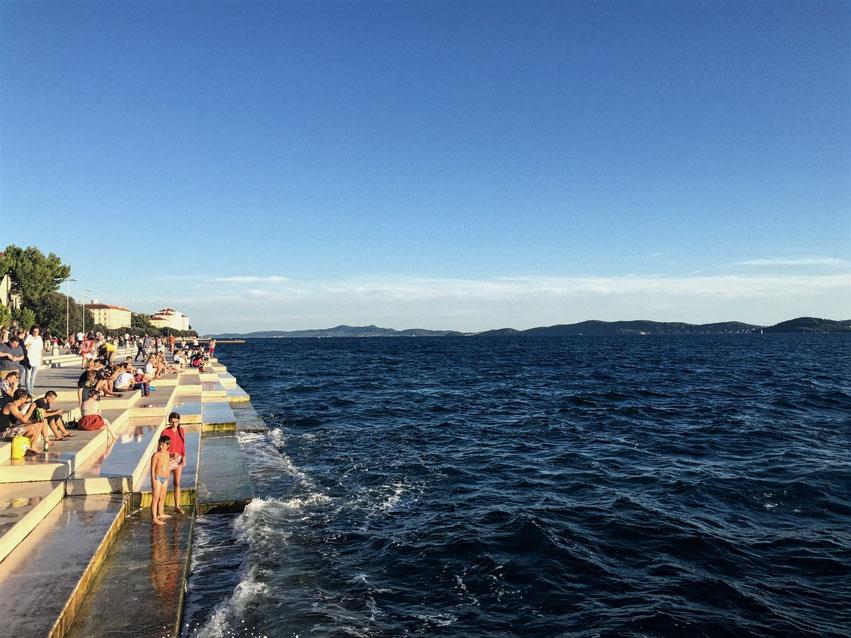 Meeresorgel Zadar Kroatien