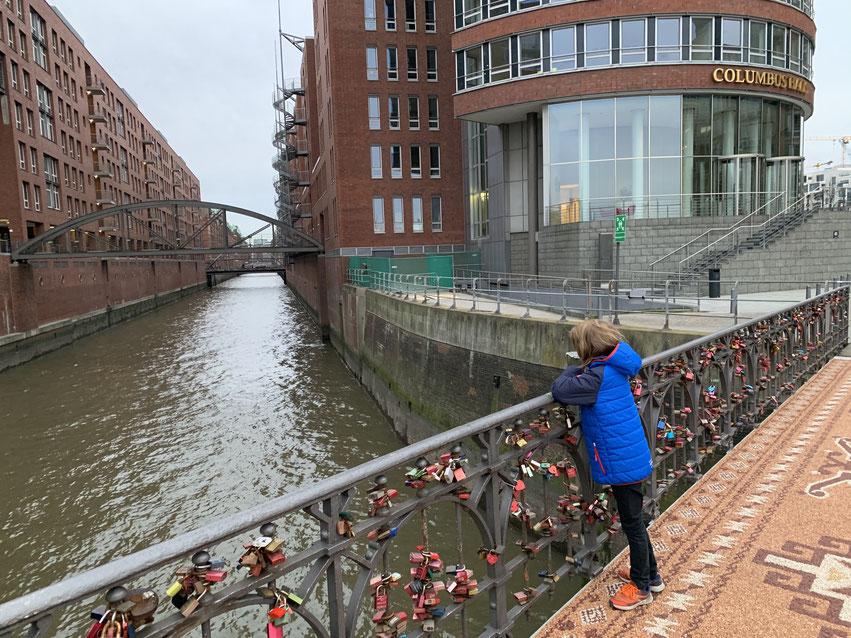 Hamburg mit Kinder Speicherstadt