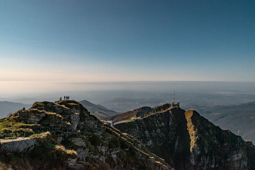 Monte Generoso Ausblick