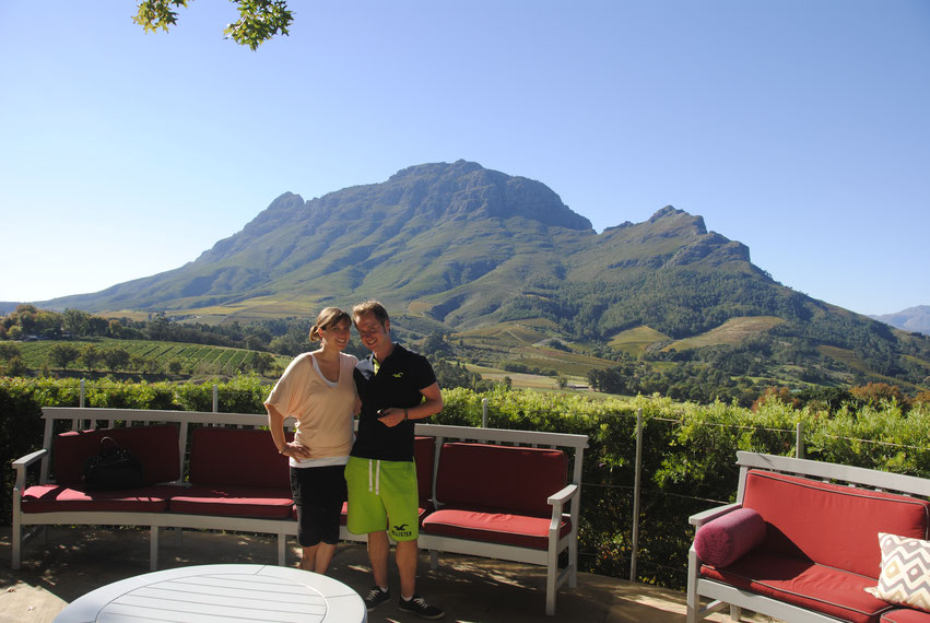 Delaire Weingut Südafrika Stellenbosch