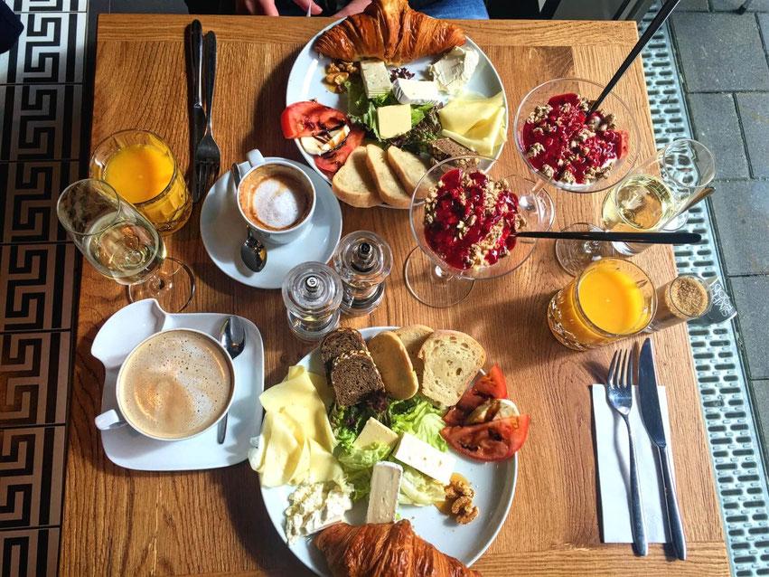 Lecker frühstücken in Hamburg