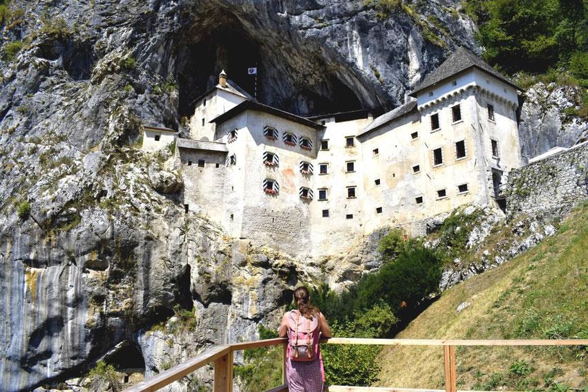 Burg Predjama Slowenien