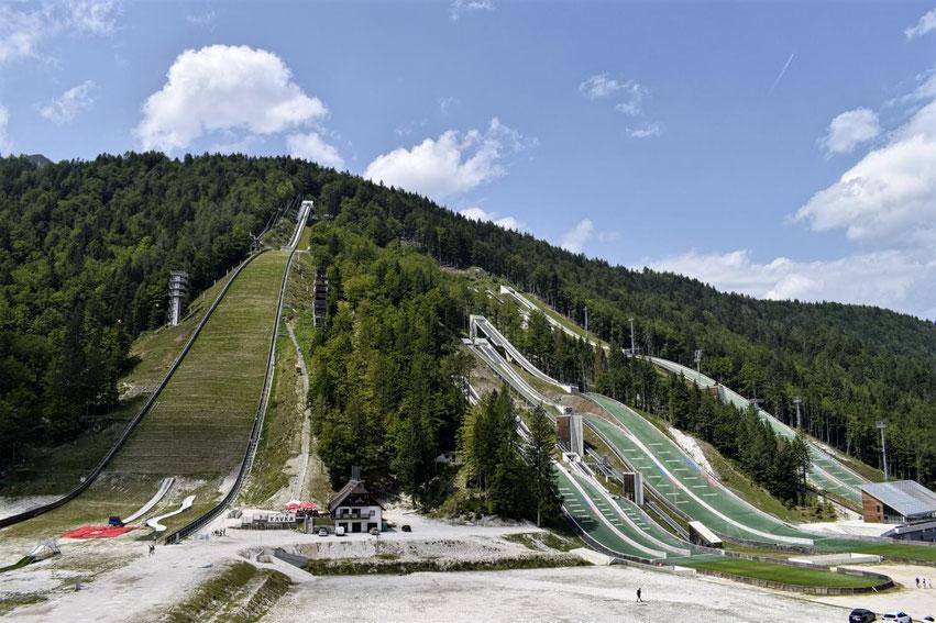 Planica Slowenien Skispringen