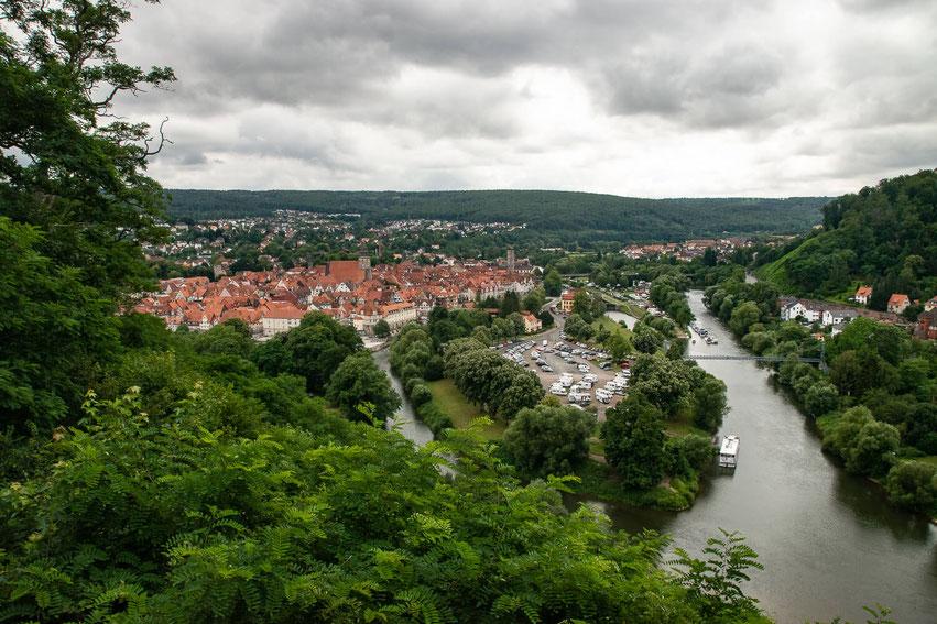 Hann Münden Aussichtspunkt Weserliedanlage