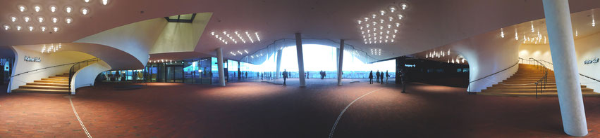 Elbphilharmonie Plaza innen