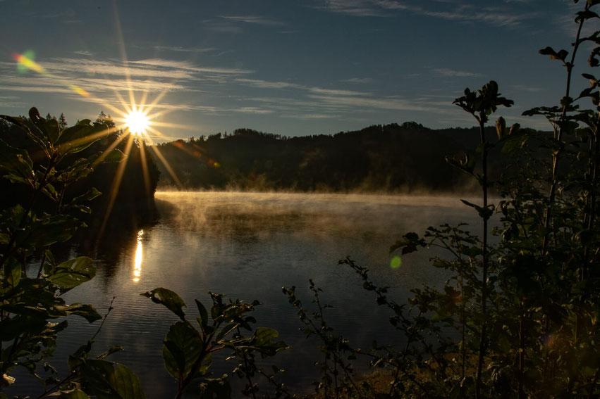 Osterode Sonnenaufgang