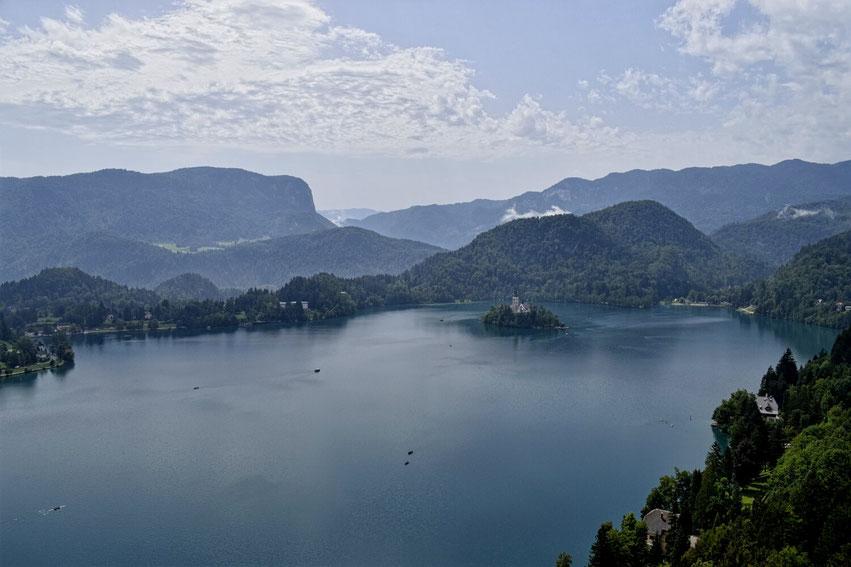 Bled See Schloss