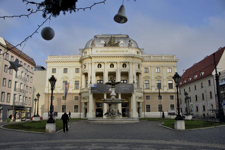 Bratislava Altstadt Weihnachten