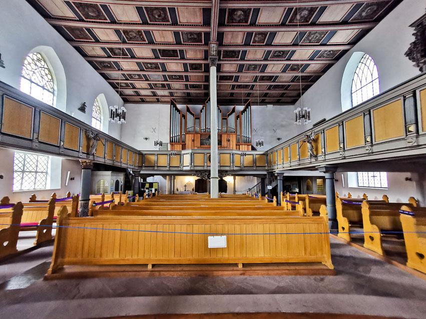 Osterode Sehenswürdigkeit St. Aegidien-Marktkirche