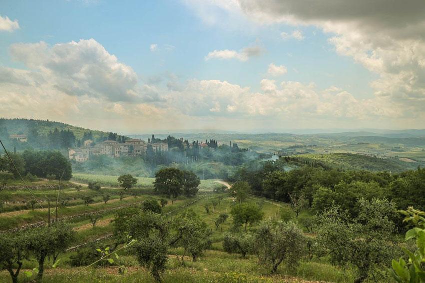 Roadtrip Italien Toskana