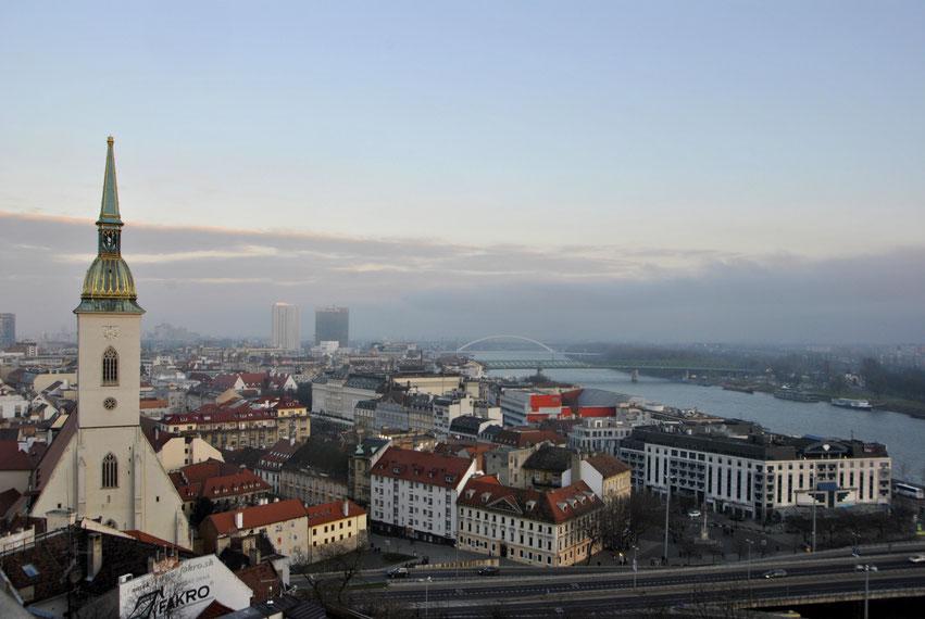 Altstadt Bratislava Donau