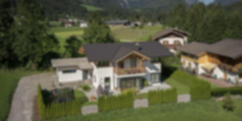 holzhaus modern - holzbau herbst  | unken | salzburg