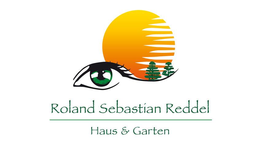 Logo, Auge, Illustration, koloriert