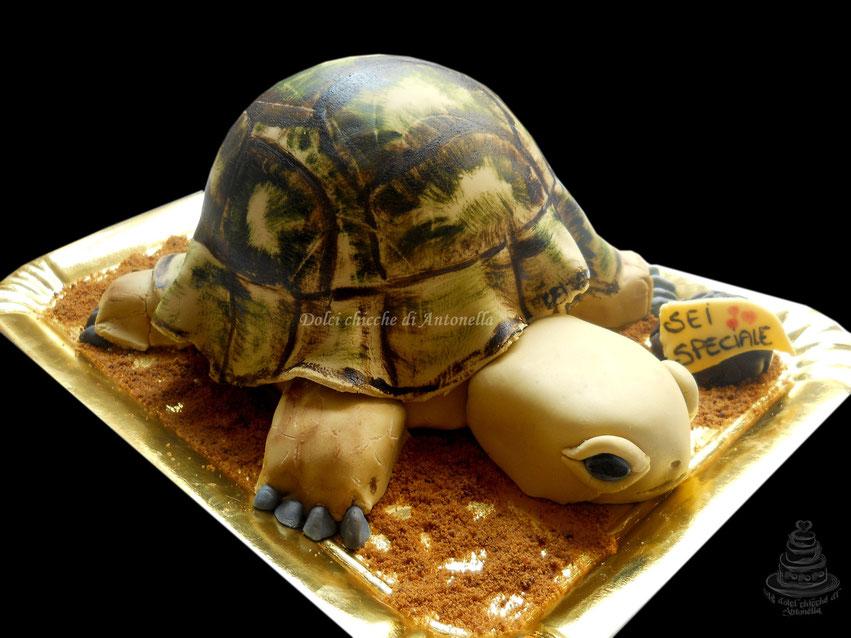torta tartaruga-dolci-la spezia-liguria-compleanno-torte decorate