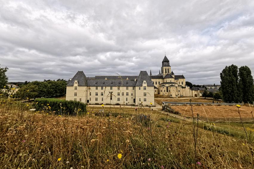 Loire Tal Abtei Fontevraud