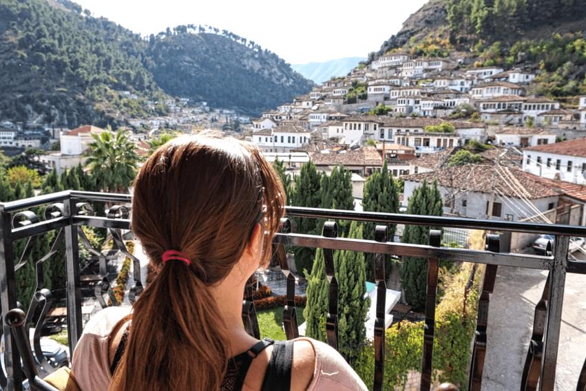 Roadtrip Albanien Hotel Berat