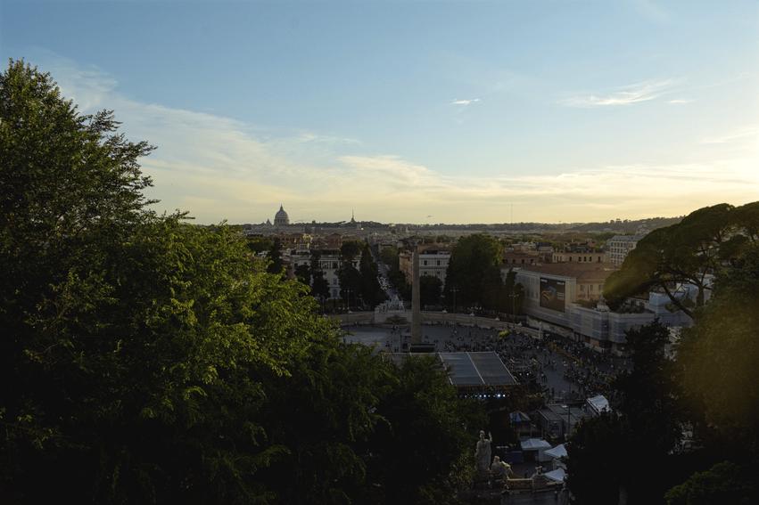 Aussichtspunkt Pincio Rom