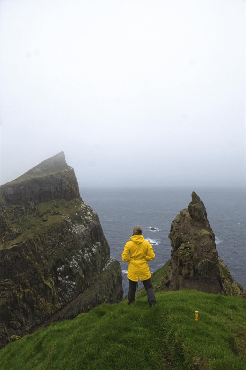 Urlaub Färöer Inseln Kleidung Gepäck