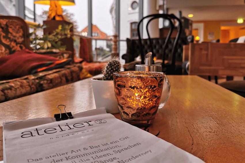 Norderney Tipps Bar Café Atelier
