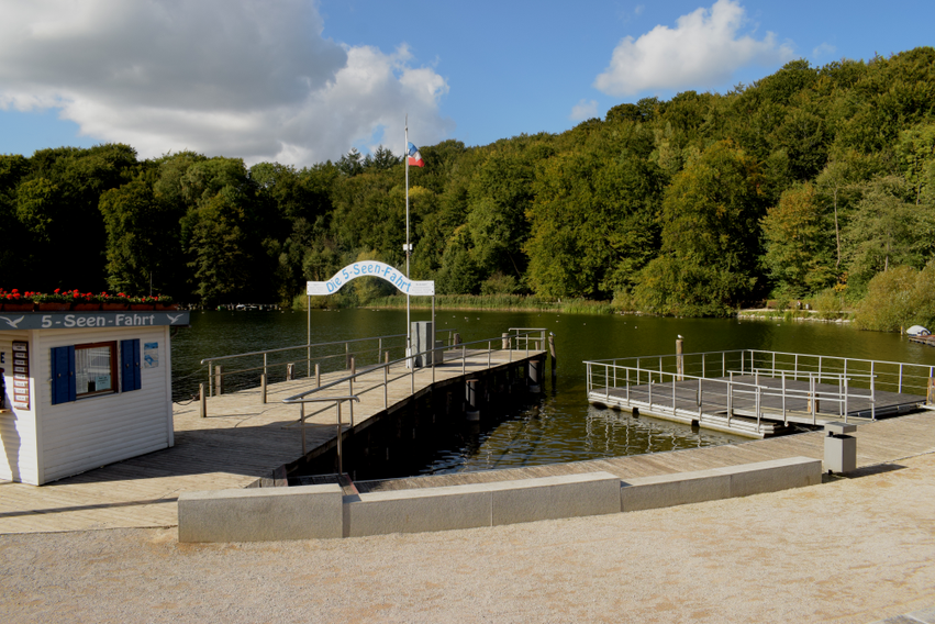 5-Seen-Fahrt Dieksee Malente
