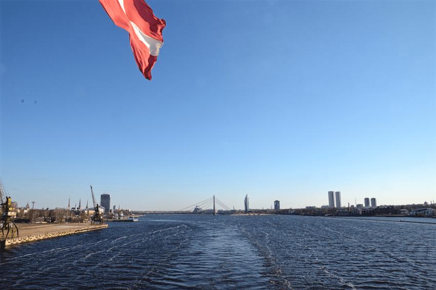 Bye Bye Riga: Mit der Isabelle ging es zurück nach Stockholm