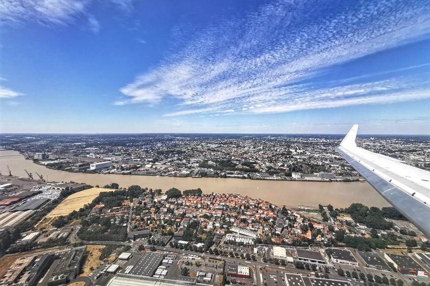 Nantes von oben