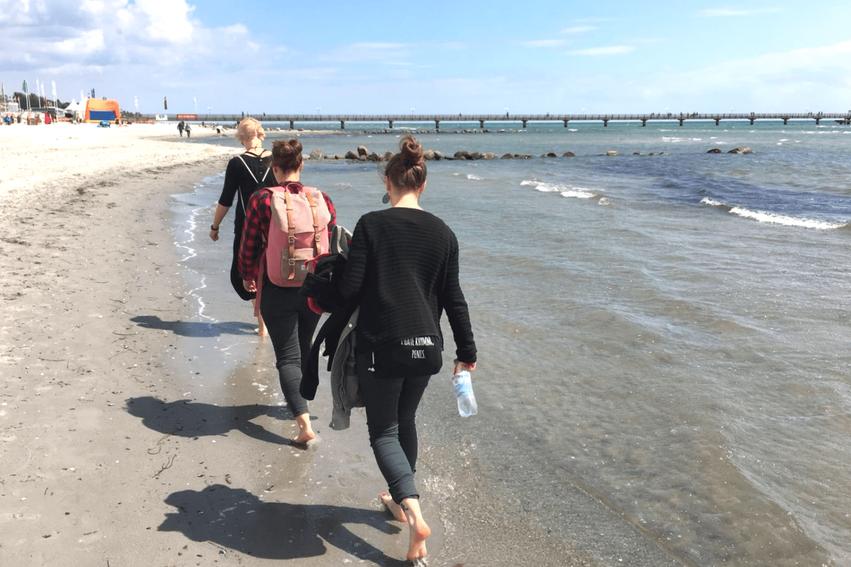 Strandspaziergang Grömitz