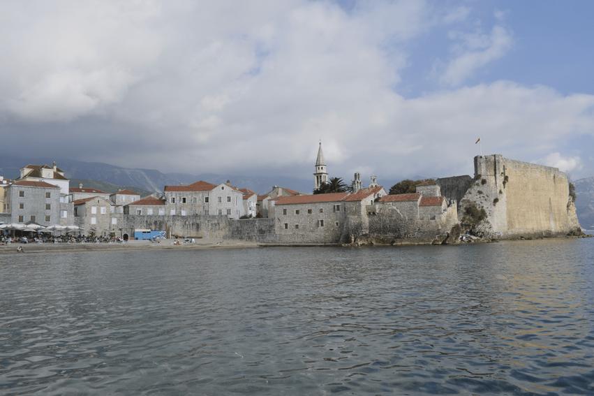 Montenegro Rundreise Altstadt von Budva