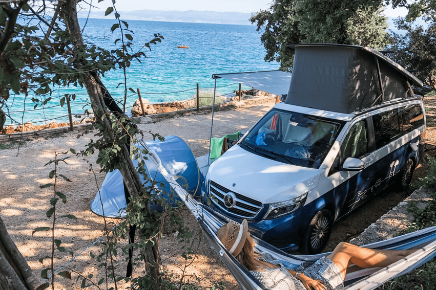 Balkan Roadtrip Kroatien mit dem Camper