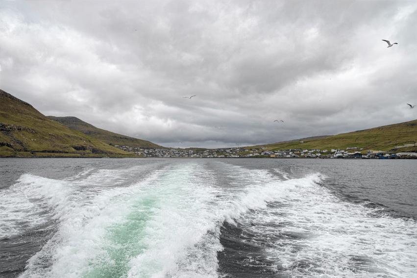 Rundreise Färöer Inseln Fähre Mykines