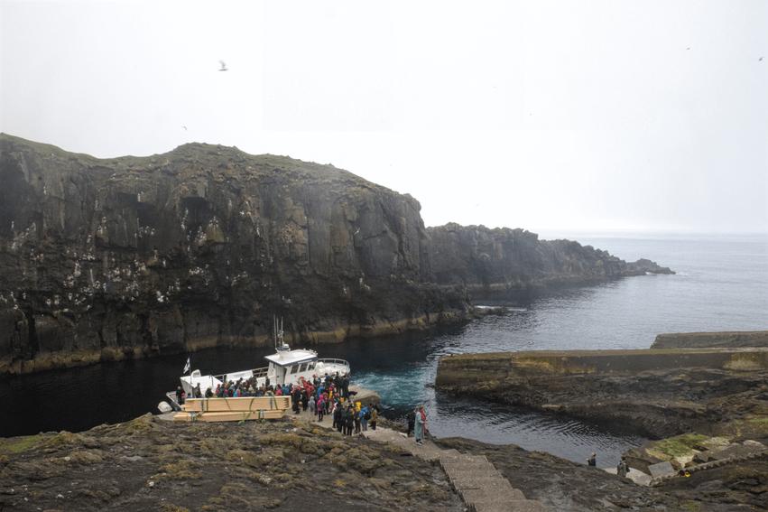Urlaub Färöer Inseln Fähre Insel Mykines