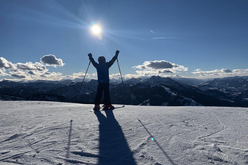 Skilaufen Österreich Flachau