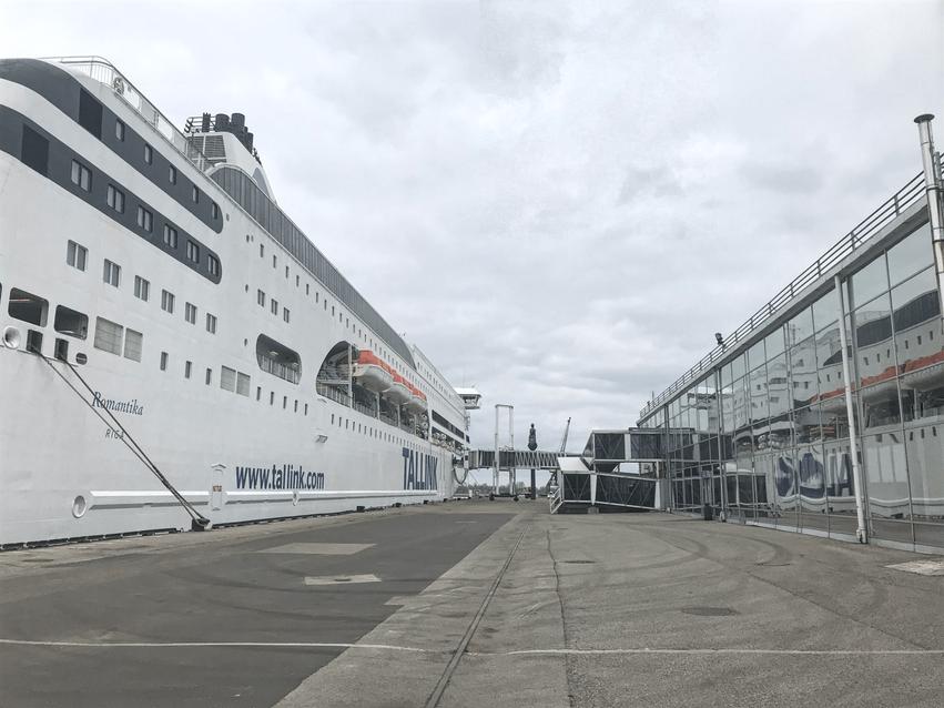 Schiff Romantika Tallink Silja