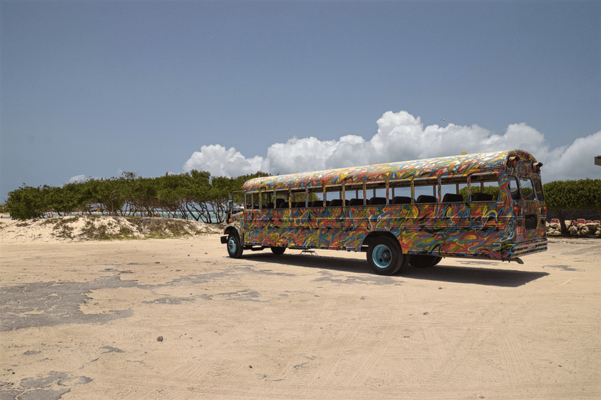 Bus Aruba Baby Beach