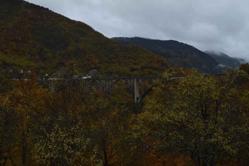 Montenegro Rundreise Tara Canyon Brücke