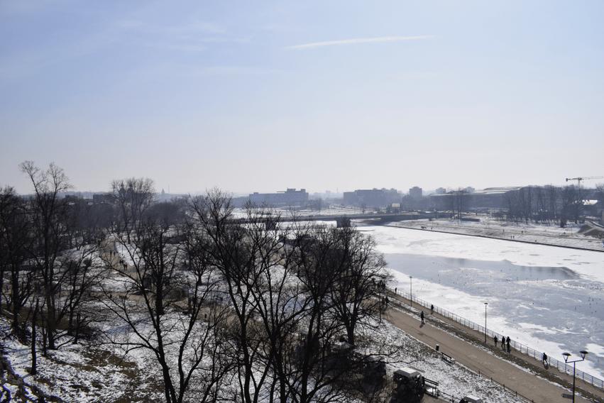 Krakau Fluss Weichsel