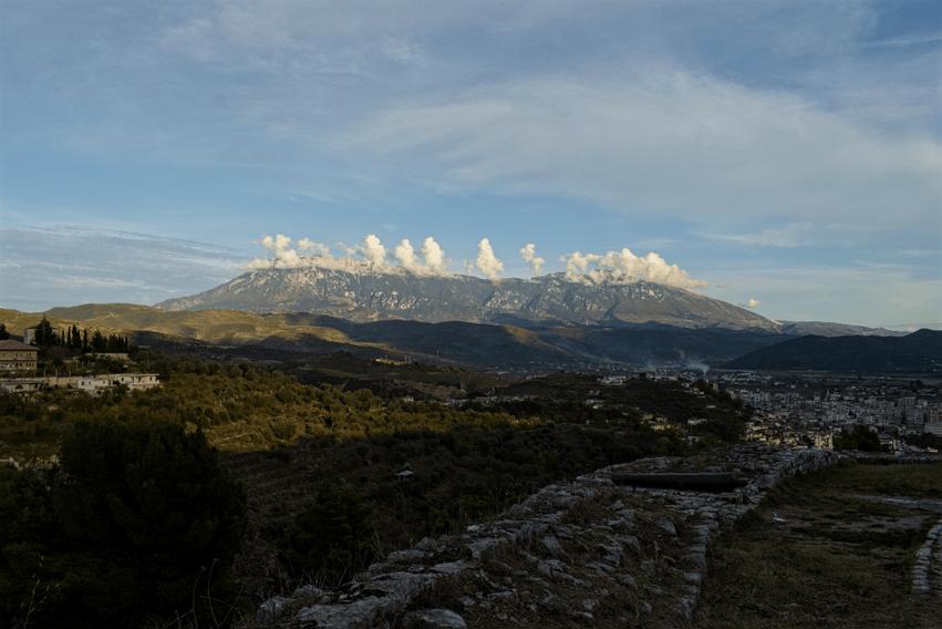 Albanien Berat Mount Timor