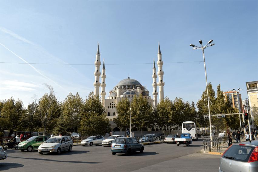 Roadtrip Albanien Moschee Tirana