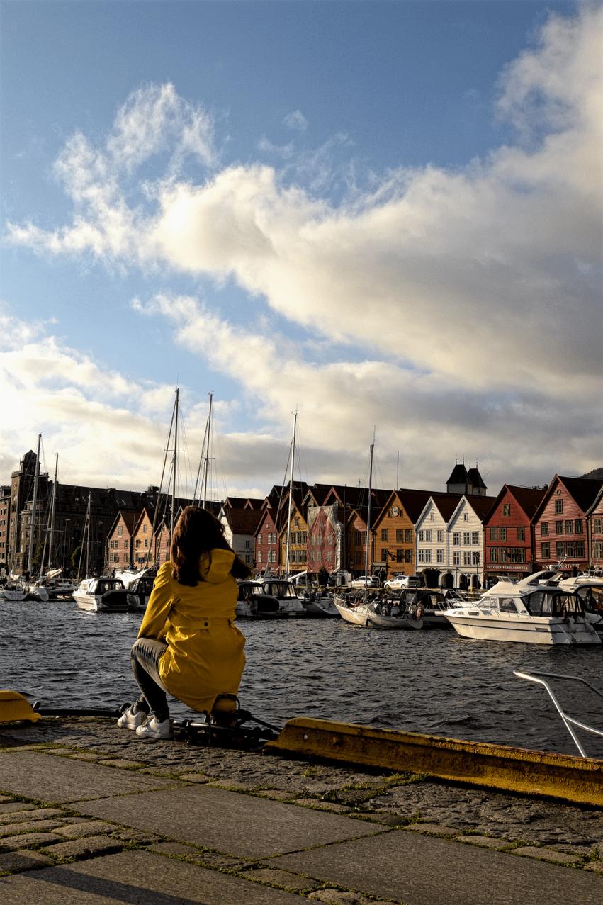 Hafen Bryggen Bergen