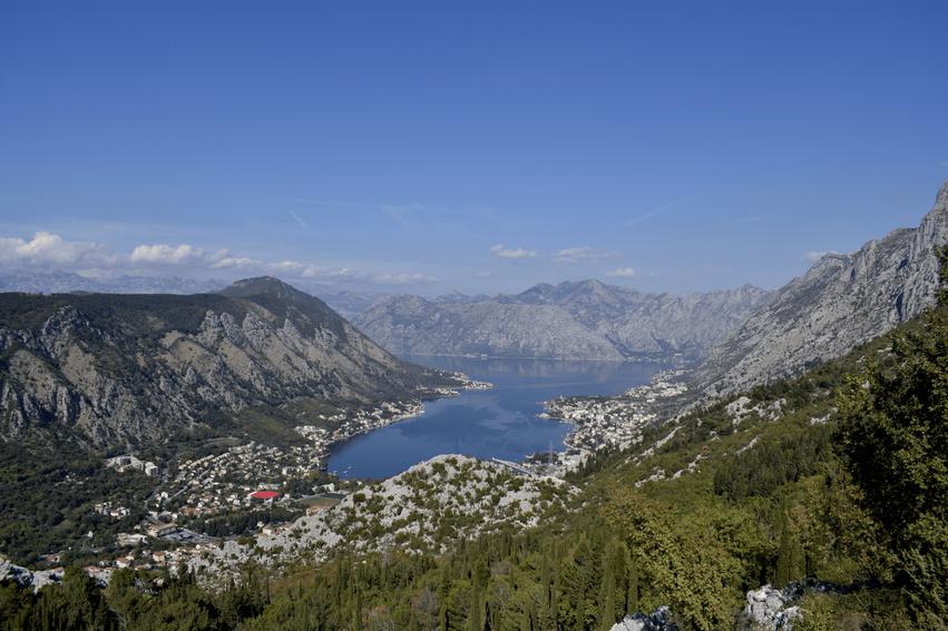 Rundreise Montenegro Aussichtsplattform Bucht von Kotor