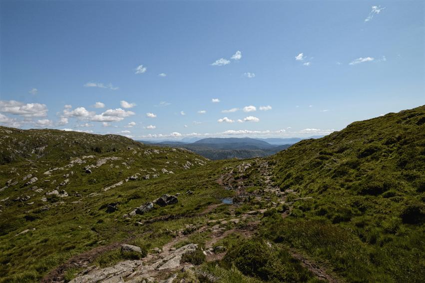 Wandern Ulriken Bergen