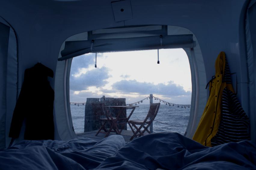 Übernachten im Sleeperoo