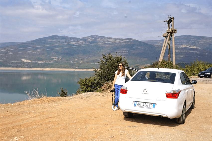 Roadtrip Albanien Mietwagen