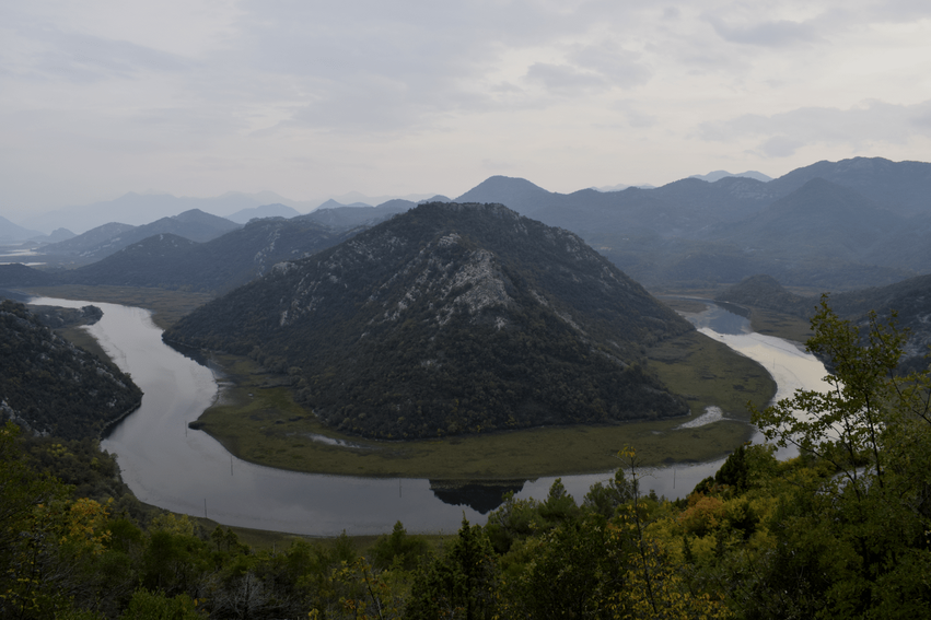 Rundreise Montenegro Hufeisen Skutarisee