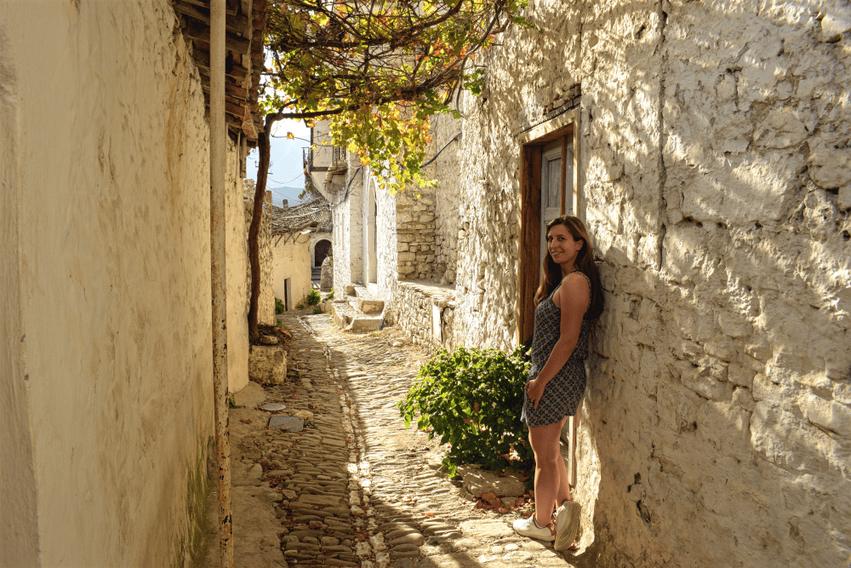Albanien Highlight Berat Altstadt