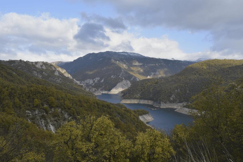 Piva Stausee Montenegro